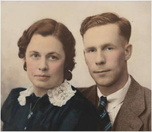 Tom and Irma Traise, 1940